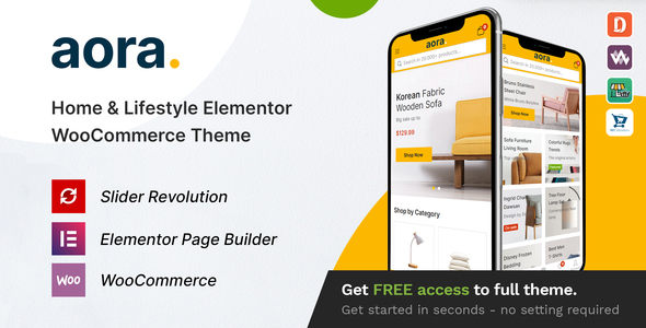 Good Aora - Home & Lifestyle Elementor WooCommerce Theme