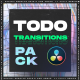 ToDo Transitions | Transitions Pack for DaVinci Resolve - VideoHive Item for Sale