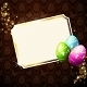 Elegant Card With Gold-Decorated Easter Eggs - GraphicRiver Item for Sale