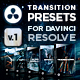 FX Presets Bundle for DaVinci Resolve | Transitions, Effects, VHS, SFX - VideoHive Item for Sale