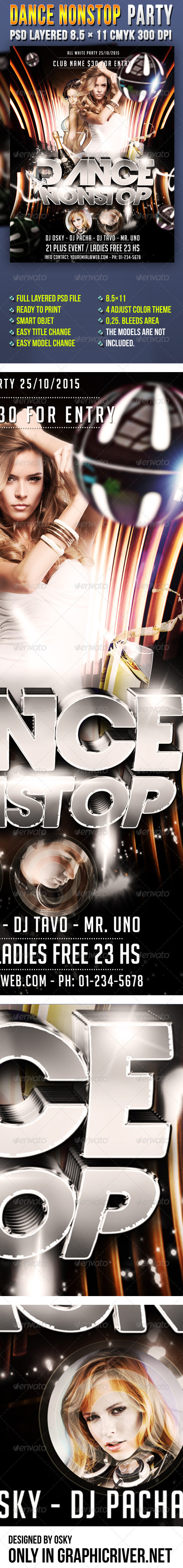 Dance Nonstop Party - Clubs & Parties Events