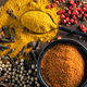 various spices on wooden table - PhotoDune Item for Sale