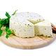 Cheese homemade with parsley on round board - PhotoDune Item for Sale