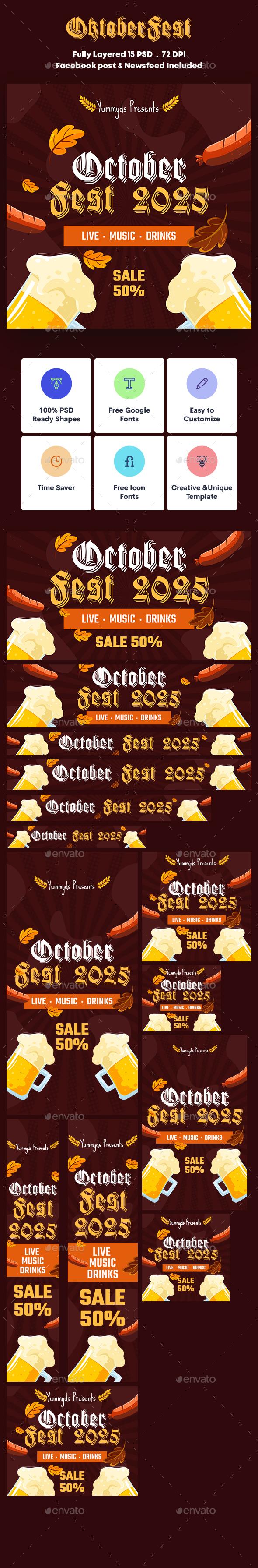 Oktoberfest Banners Ad