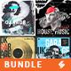 Music Album Cover Artwork Templates Bundle 60