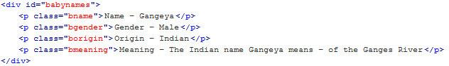 Baby Names Database for Wordpress