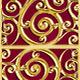 Golden Art Deco Background Pattern - GraphicRiver Item for Sale
