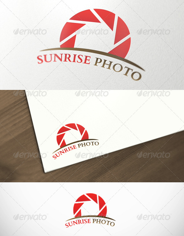 Sunrise Photography Premium Logo Template - Objects Logo Templates