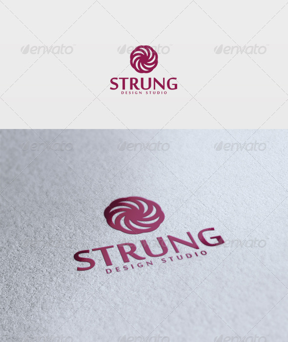 Strung Logo - Vector Abstract