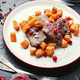 Roasted beef with pumpkin - PhotoDune Item for Sale