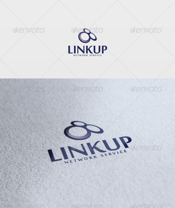 Linkup Logo - Vector Abstract