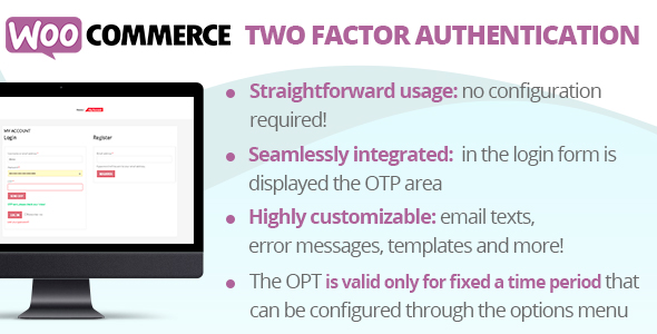 Download WooCommerce Two Factor Authentication Free Nulled