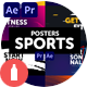 Posters Sports - VideoHive Item for Sale