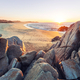 Sandy beach at sunrise - PhotoDune Item for Sale