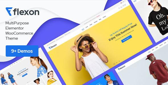 Download Flexon – Multipurpose WordPress Theme Free Nulled