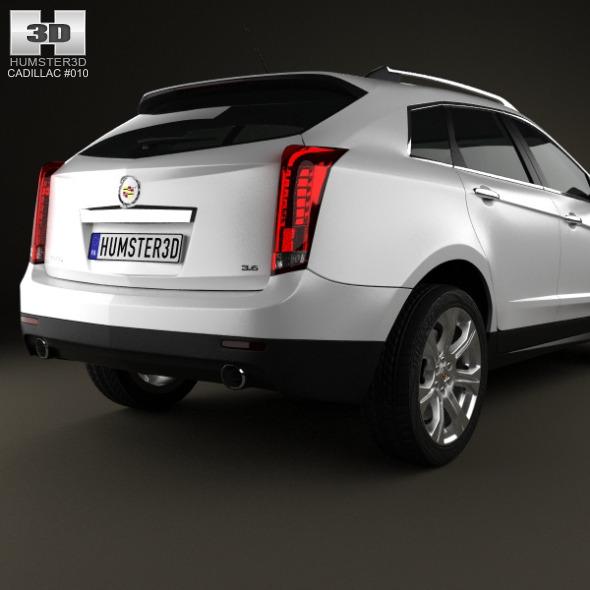 Cadillac 2013 Srx: Cadillac SRX 2013 By Humster3d