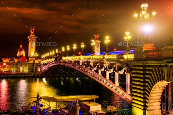 Bridge in Paris - Stock Photo - Images