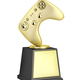 Gold video gaming trophy - PhotoDune Item for Sale