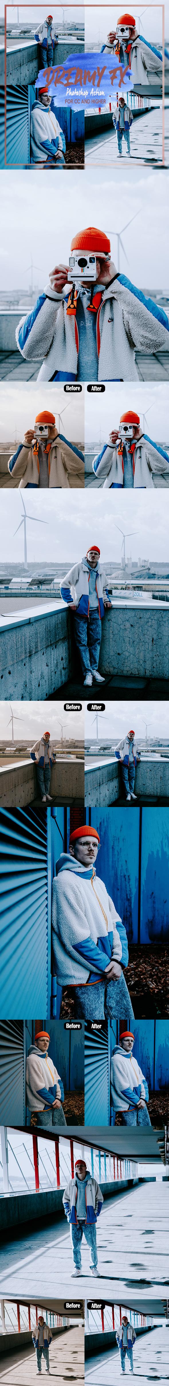 DREAMY fx - Photoshop Action