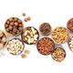 Assortment of nuts in bowls - PhotoDune Item for Sale