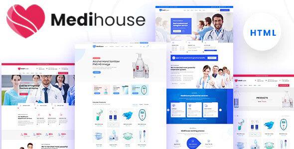 Wondrous Medihouse - Hospital Medical Caregiver HTML Template
