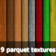 9 Wooden Parquet Textures - GraphicRiver Item for Sale