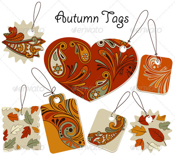 7 Autumn Tags - Seasons Nature