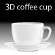 3D coffee cup - GraphicRiver Item for Sale