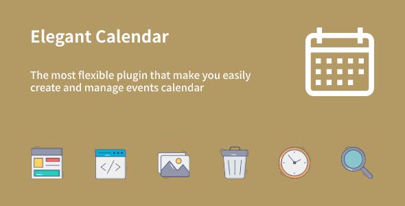 Download Elegant Calendar Free Nulled