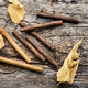Cigarillos and tobacco leaf - PhotoDune Item for Sale