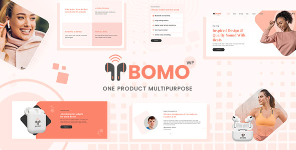 Bomo - One Product WordPress Theme