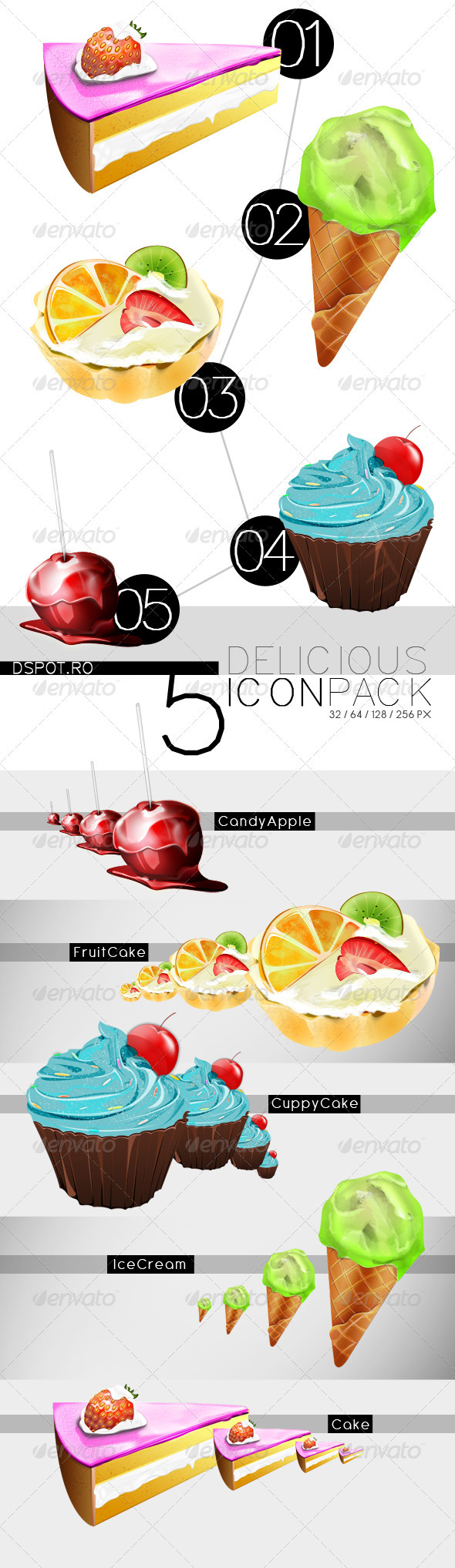 Delicious Icon Pack - Food Objects