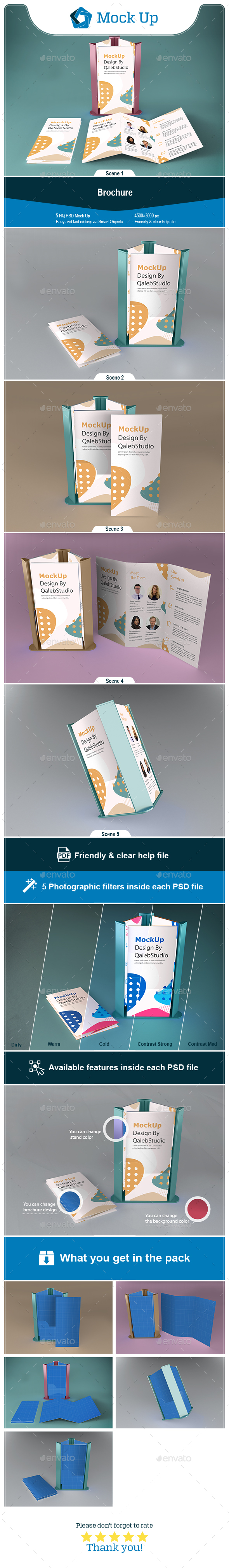 Brochure & Phone Mockup