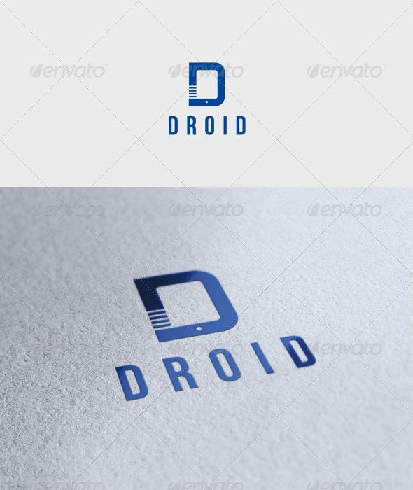 Droid Logo - Letters Logo Templates