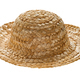 Round straw hat, side view - PhotoDune Item for Sale