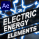 Electric Energy Elements | After Effects - VideoHive Item for Sale