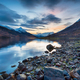 Winter sunset from the north shores of Loch Leven - PhotoDune Item for Sale