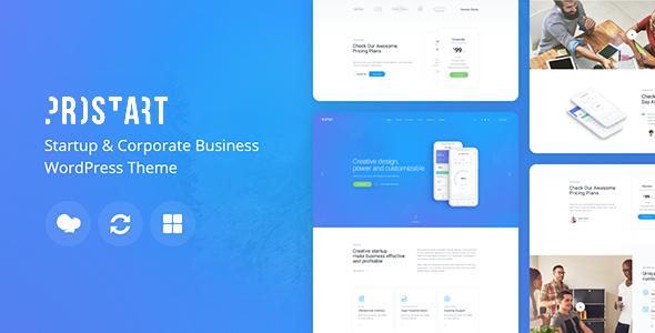 Fabulous ProStart | Startup & Business WordPress Theme