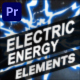 Electric Energy Elements | Premiere Pro MOGRT - VideoHive Item for Sale