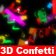 3d Confetti package - VideoHive Item for Sale