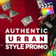 Authentic Urban Style Promo | For Final Cut & Apple Motion - VideoHive Item for Sale