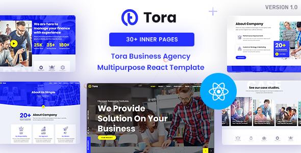 Tora : Corporate Business React Template