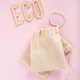 reusable cotton tea bag, eco zero waste concept - PhotoDune Item for Sale