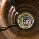 Construction subway tunnel without rails - PhotoDune Item for Sale