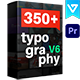 Essential Typography Library | Premiere Pro - VideoHive Item for Sale