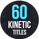 Kinetic Titles For Premiere Pro - VideoHive Item for Sale