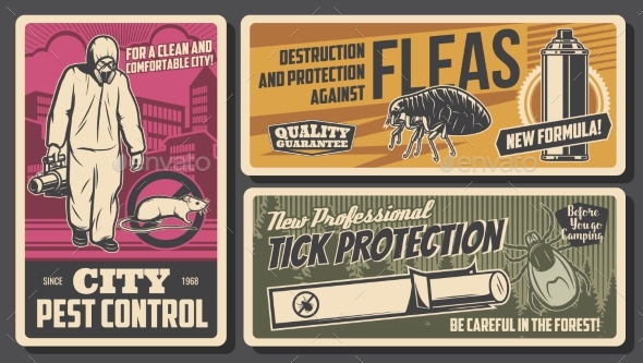 Pest Control Protection Against Insects Poster