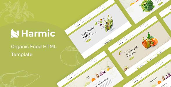 Harmic – Organic Food HTML Template