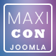 MaxiCom - Internet Company Joomla Template with Page Builder