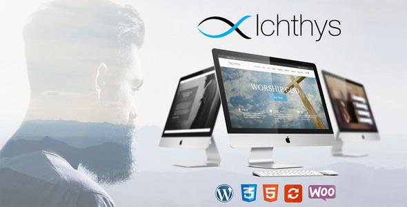 Excellent Ichthys - Church WordPress Theme